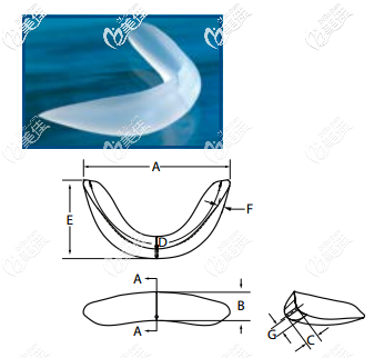 菲思挺硅胶下巴假体Vertical Lengthening Chin系列的所有型号的图片