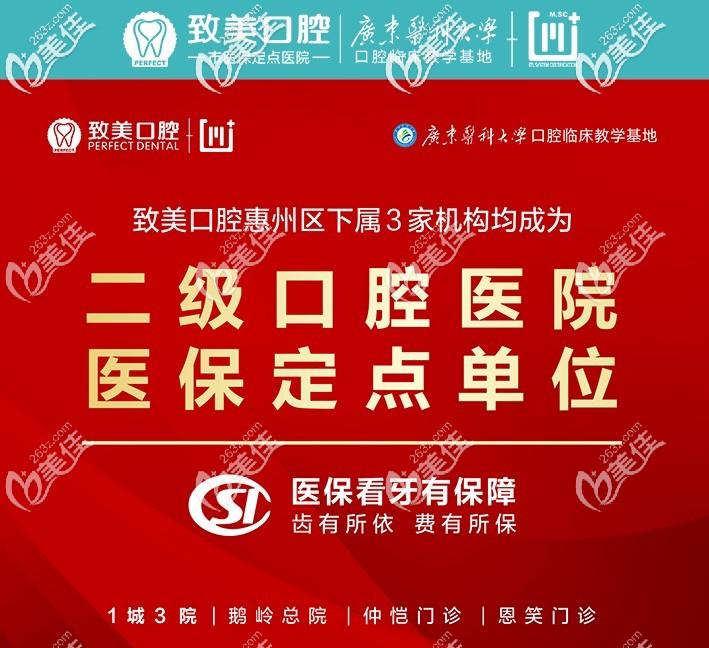 惠州致美是二级口腔医院