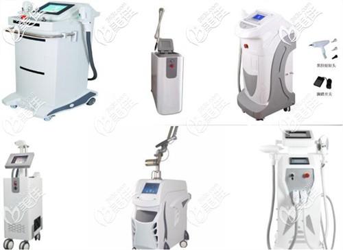 院内引进的医疗美容仪器