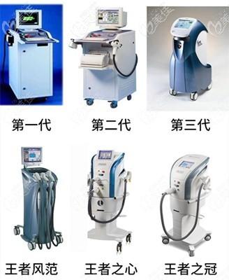 M22光子嫩肤常用的几种仪器