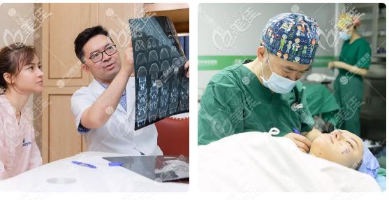 广州曙光王旭明鼻子修复面诊过程图