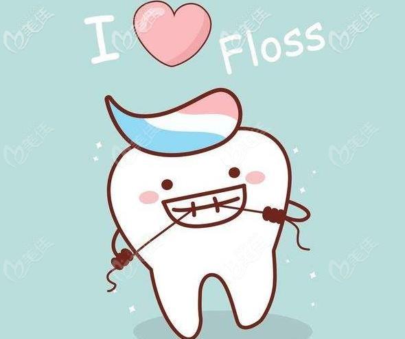 来学习牙线使用吧