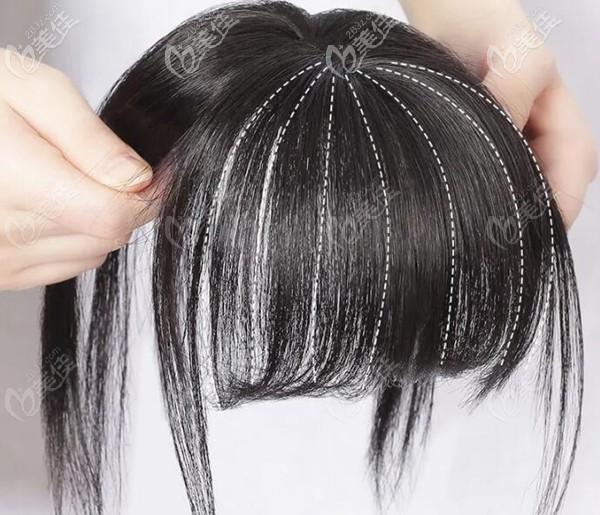 假发是治疗脱发的其中一种方法