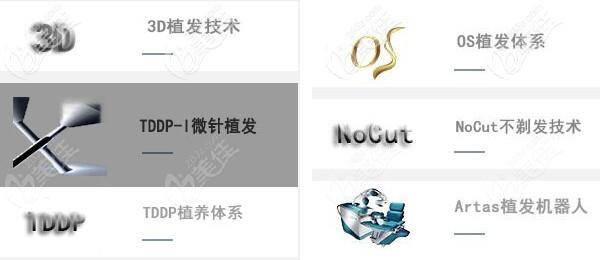 北京新生6大植发技术