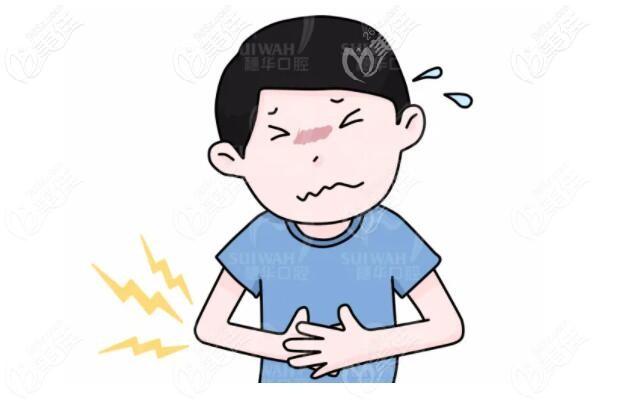 一侧咀嚼可能导致胃病等其他身体疾病