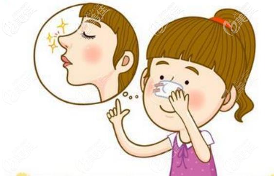 软糖半肋真空隆鼻后的鼻尖要更自然有弹性