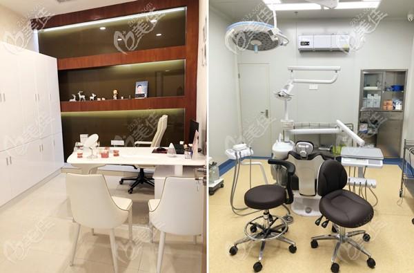 院内的咨询室和种植手术室